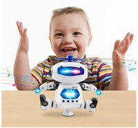 astronauts for kids - Robots Toys WONFAST Electronic Walking Dancing Smart Space Robot Astronaut with Light and Music Toys for Kids