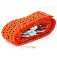 Wholesale 3 T M Heavy Duty Tonne Emergency Steel Recovery Tow Rope For Car Van Truck