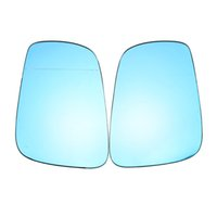 Wholesale 1Pair Blue Side Heated Car Reverse Mirror Side Mirror Glasses for VW Jetta Golf Cabrio