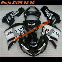 Cheap ZX6R fairing kit Best Ninja 2005 2006 ZX6R