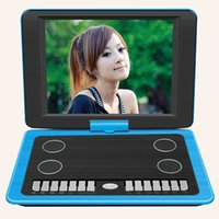 Wholesale Portable DVD VCD Players EVD Game Function Degree Rotation HD player inch with TV AVI CD R RW PEG Game