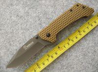 201,512 High End carpeta Boker cuchillo G10 manejar al aire libre la supervivencia que acampa cuchillos senderismo cuchillo colección B683J