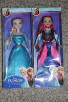 Wholesale Frozen Princess12 Inch Frozen Doll Elsa and Frozen Anna Snow treasure Toys