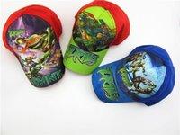 Wholesale Teenage mutant ninja turtles Baseball Caps Kids New Summer Hats Snapback boy Baseball Hats Children Hat