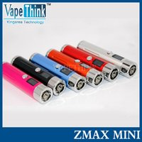 Wholesale Original Sigelei mini zmax mod ecig mechanical mod with Variable voltage V V battery mod zmax mini