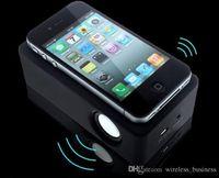 Wholesale New Wireless Amplifying Mini Portable Audio vibration Music Speaker Boombox for iPhone Samsung Smart Phones
