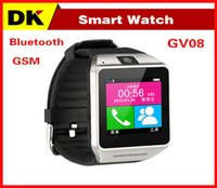 32gb card - 2015 New Smart Bluetooth Watch GV08 for Android Smart Phone Wrist Watches With MP Camera Support SIM Card GB TF Card Anti lost