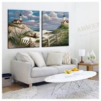 architectural pictures - The architectural landscape wall hanging pictures in the living room sofa bedroom home decoration