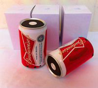 pepsi cola - Drop shipping Creative sound CoCa Cola Pepsi Budweiser Bear USB Mini Portable Speaker Sound Box with mic For Mp3 Mp4 Computer by alibear
