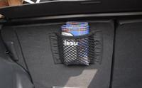 abs magic - Strong Magic Tape Car Seat Back Storage Mesh Net Bag cm cm Luggage Holder Pocket Sticker Trunk Organizer Car Styling