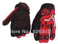 Wholesale Motocross Gloves Racing Gloves Motorcycle Motorbike Pro biker Full Finger Black Red Blue Orange CE
