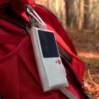 Wholesale 2016 Waterproof Solar Lantern LED Lights V Mah Folding Glow Pillow Portable Camping LED Lantern Solar Light White Color