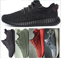Cheap 10 Colors Highest Quality Yeezy 350 Running Shoes Sneakers Kanye West Yeezy 350 Boost With Box Mens Athletic Boots Sports Shoes 36-46