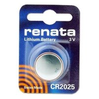 Wholesale Renata CR2025 Lithium Button Cell mAh Capacity Watch Battery