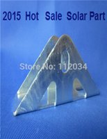 astm galvanized - iron hot galvanizing Triangle hinge to fitting solar panels base hinged connection before fitting