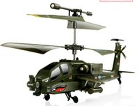 Electric apache sale - Hot sale Chilidren like Remote Control Line toys Syma S109G Apache AH Channels Mini Indoor Helicopter