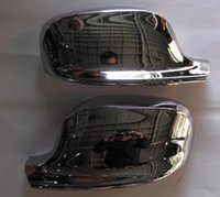 Wholesale Car rearview Mirror Cover Trim body side mirror cover caps trim Fit For BMW X3 F25 abs chrome per set order lt no t