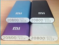 Wholesale China Xiao Mi mah power bank Portable Universal External Battery Charger Power for phone tablets phone charger