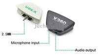 Precio de Controladores de xbox para la venta-Auriculares Blanco y Negro auriculares Adaptadores Auriculares Convertidores Adaptadores para Xbox 360 Game Controller Venta caliente