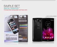 Cheap For LG G Flex 2 Original NILLKIN Matte & Super Clear Anti-fingerprint Protective Film Screen Protector For LG G Flex 2 F510L