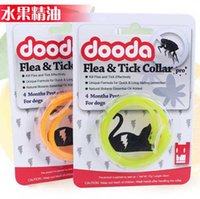 Wholesale Pet products family has DOODA mosquito flea collar of pure natural plant essential oils with the cat flea ring