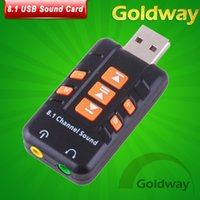 Wholesale External USB Virtual Channel CH D Audio Sound Card Adapter Converter High Quality