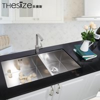 Wholesale Quality favorably multifunction dual slot dedicated kitchen sink quality stainless steel kitchen sink