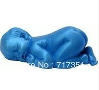 silicone soap molds - Sale Sleeping Baby Shape Silicone Soap Molds Cake Mould Fondant Decorations W37783