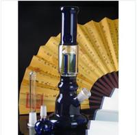 sh - 1 bed filter cartridge primary three blue colored flat bottom bong cm high diameter bottom diameter CM weight g free sh