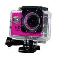 Wholesale W9 Hero Waterproof Sport DV HD Camera Camcorder Gopro Style Novatek P fps MP H Inch LCD CAR DVR vs GoPro SJ6000