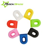Cheap RockBros Bicycle Cycling Crank Protector Cover MTB Mountian Road Bike Fixed Gear Crankset Crank Protective Gear Bicycle Parts