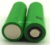 Wholesale Authentic VTC4 V US mah HIGH DRAIN A RECHARGEABLE Li on Battery Electronic Vaporizer Batteries Vapor Battery UPS Free