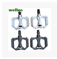 Wholesale Hot New WELLGO M195 MTB BMX DH Bike Bicycle Parts Bike Pedals Cycling Bearing Magnesium Pedal