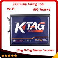 Code Reader auto tools programming - 2015 K TAG ECU Programming Tool V2 Compatible Auto KTAG K TAG ECU Prog Tool Master Version via tokens