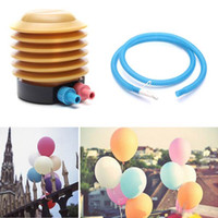 balloon pump - Plastic Air Foot Inflator Pump Essential Balloon Inflatable Toys Practical Helper Wedding Accessory Pumps