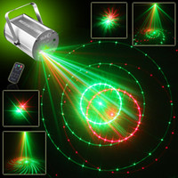2016 SUNY 12 en 1 Télécommande IR RG DJ Party étape projecteur laser Lighting Effect Laser Rouge Vert Disco Led Stade Light Entertainment