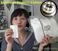 Wholesale 140pcs DIY MOD Atomizer Japan usa RDA Wicking organic cotton Muji sheets koh gen do from Japanese organic cotton pads indonesia