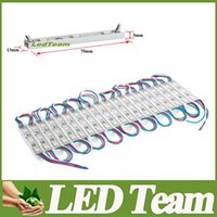 Wholesale Waterproof V RGB Led Pixel Modules SMD Leds W lm Led Modules Sign Led Backlights For Channel Letters Warm Cool White Red Blue
