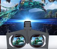 Wholesale Folding D VR Glasses Virtual Reality Headset Movie Game Universal for iPhone Samsung All to Inches Android iOS Smart Phones
