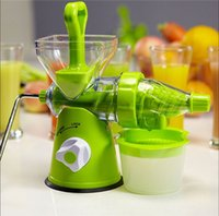 fruit squeezer - Free chipping NEW Hand Operated Fruits Press Juicer Lemon Squeezer Juice Extractor Machine