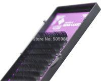 Wholesale sets B mix length in one tray silk eyelash extension fake false eyelashes