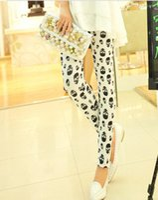 Wholesale Fashion Skull Heads Patterns Leggings Women s Leggings WY210 p