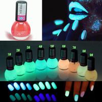 neon paint - ml Fluorescent Transparent Poppy Neon Luminous Gel Oil Matte Nail Polish Nail Varnish Lacquer Paint Nail Art Glow in Dark