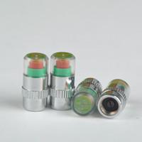Wholesale Sensor Indicator Alert Direct Visualization Brand New Car Auto Tire Air Pressure Valve Stem Caps PHM557