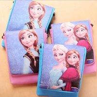 Wholesale New Frozen Children s Bags Girl s Frozen Shoulder Bags Messenger Bags for Girls Frozen Princess Elsa Handbags Style