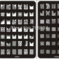 Wholesale Nail Stamping Plates stamper Konad Nail Plate Stamp Image Plate Nail Art Stamping Kit DIY Image Plate Template