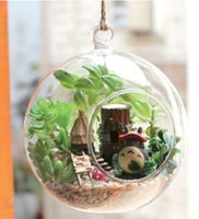 fairy furniture - Wooden Dollhouse DIY Miniature Hanging Glass Ball D Fairy Forest ELF TRIBE Kit