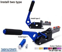 Wholesale Tansky Universal Hydraulic Handbrake Drift Rally Racing E Brake Lever Default Color Is Blue TK B11001 BL Have In Stock