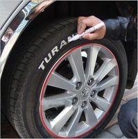 Wholesale Colors Tyre Permanent Paint Pen Tire Repair Filler Sealer Pen Outdoor Marking Ink Marker Creative
