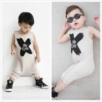 bebe clothing - Hot selling New baby boy girl clothing set carter baby Romper letters NO SLEEP sleeveless bebe jumpsuit baby clothes